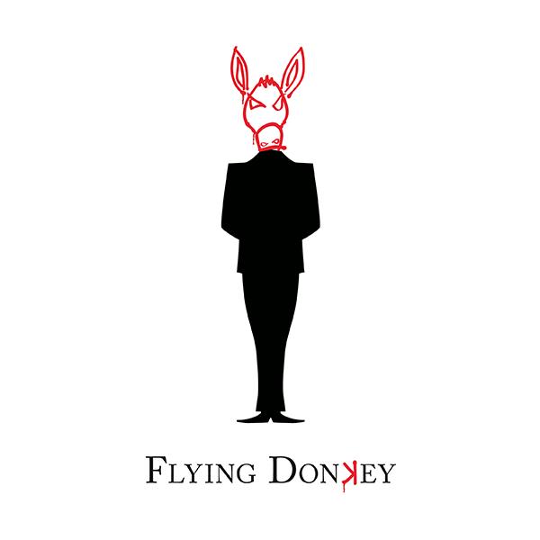 Flying Donkey Logo