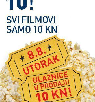 Dođite na CineStar DAN ZA 10!