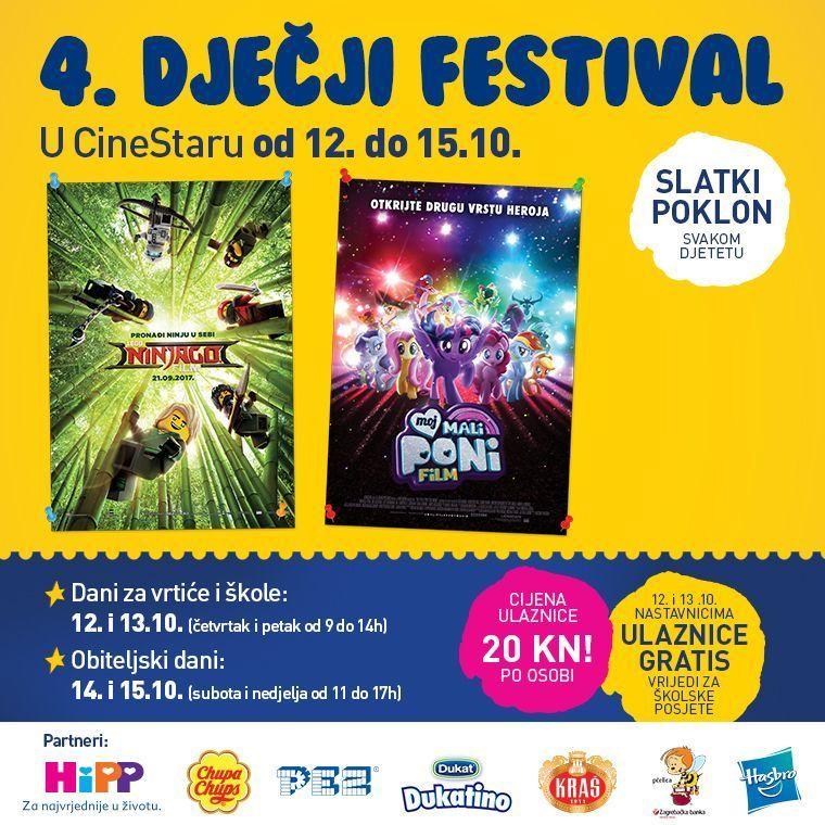 4. Dječji festival u Cinestaru
