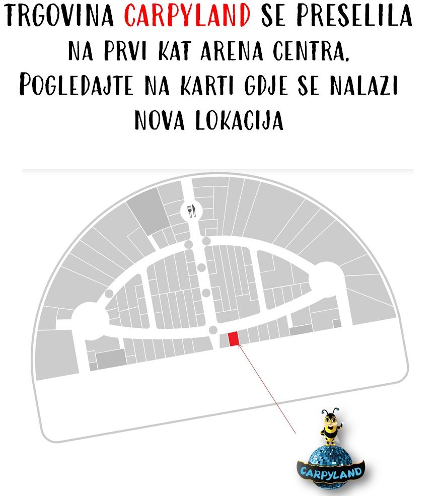 Carpyland Se Seli Na Novu Lokaciju Arena Centar