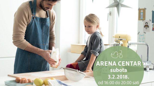 Promocija proizvoda osviještene prehrane i prirodne kozmetike u Arena Centru