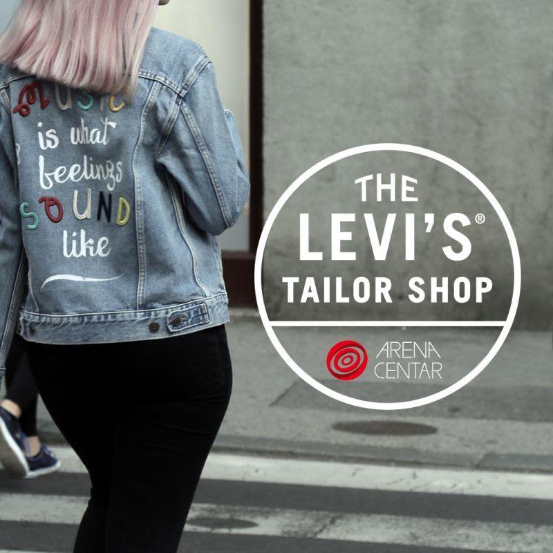 Levi's Tailor Shop se vraća u Arena centar!