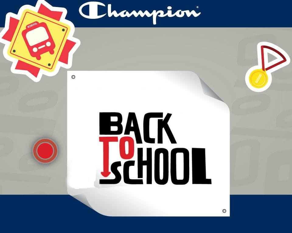 Opremite svog školarca u Champion Shopu