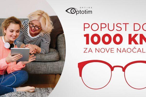 Uštedite do 1.000 kuna!
