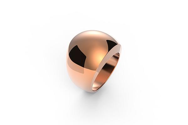upečatljiv prsten