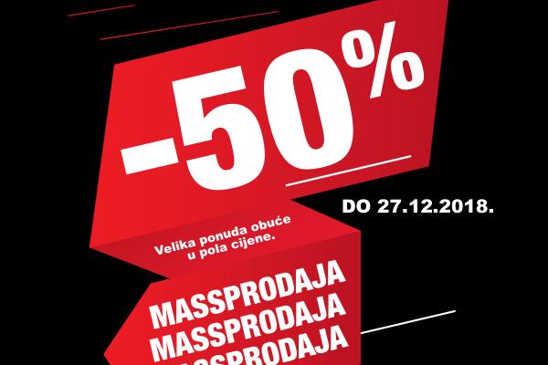 -50% - MASSPRODAJA
