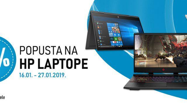 Akcija 10% popusta na HP prijenosna računala, zgrabi laptop po najboljoj cijeni!