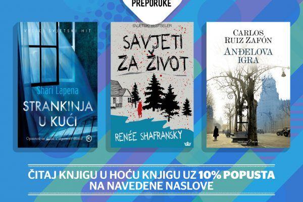 Preporuke Alis Marić i Čitaj knjigu