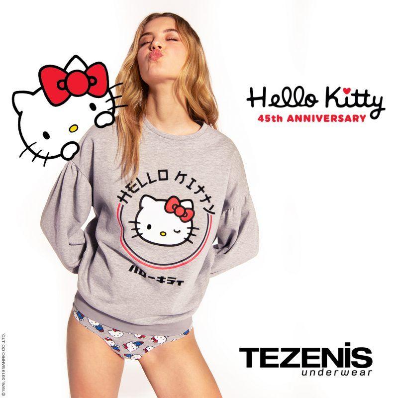 Tezenis slavi 45. rođendan Hello Kitty s neodoljivom kolekcijom posvećenom omiljenom liku