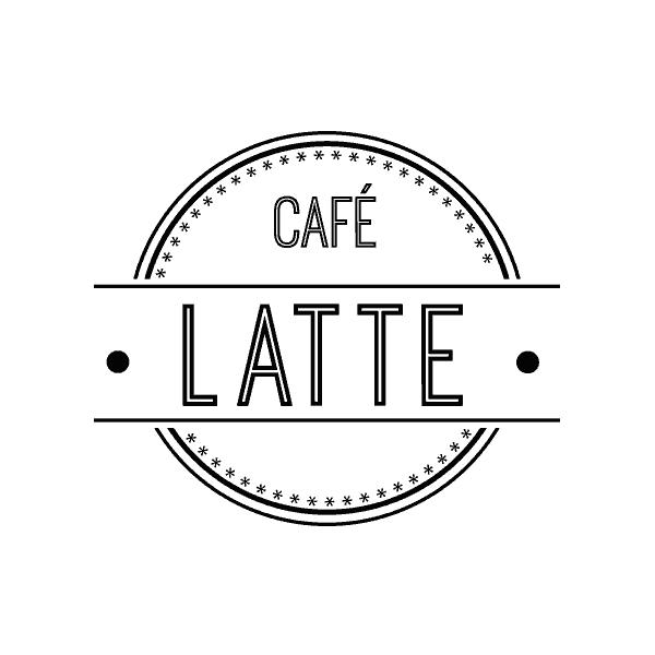 Café Latte Logo
