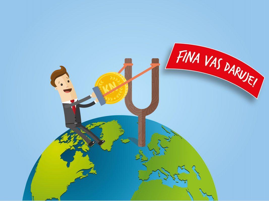 Koristite Western Union u Fini. Od 1.4. do 1.7.2019. FINA vas daruje!