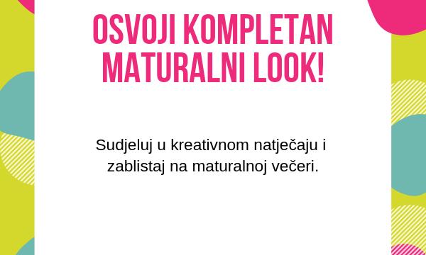 Izrazi svoj kreativni duh i osvoji kompletan maturalni look!