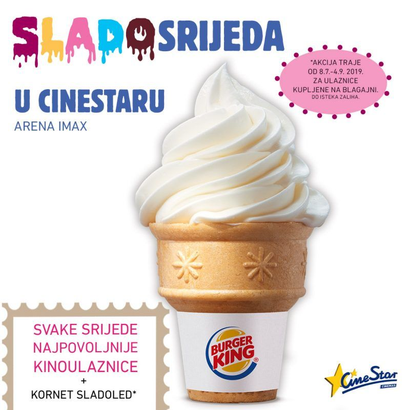 Uživajte u SladoSrijedi u Arena Centru!