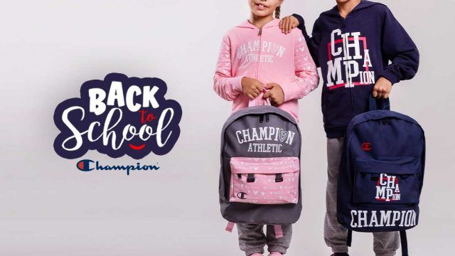Back to school u Champion Shopu