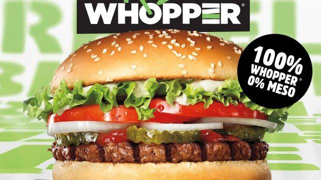 100% WHOPPER®, 0% MESO
