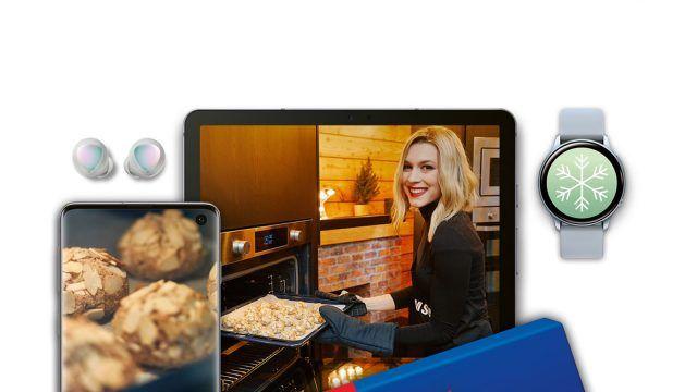 Samsung Experience Store Holiday druženje uz Teu Mamut