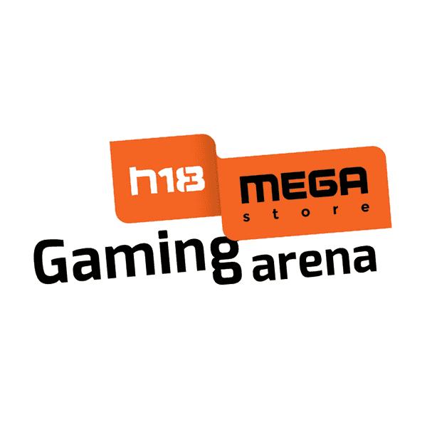 H18 Megastore Gaming arena Logo